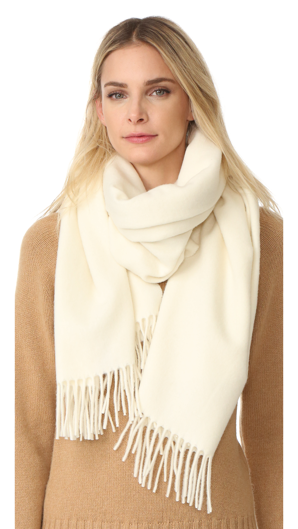 Acne Studios Canada Scarf - Ivory White at Shopbop