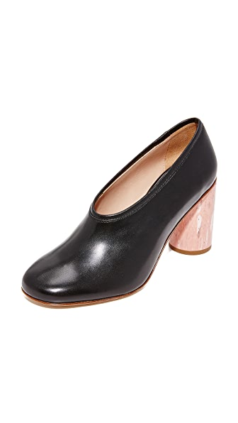 Acne Studios Amy Heels - Black/Pink