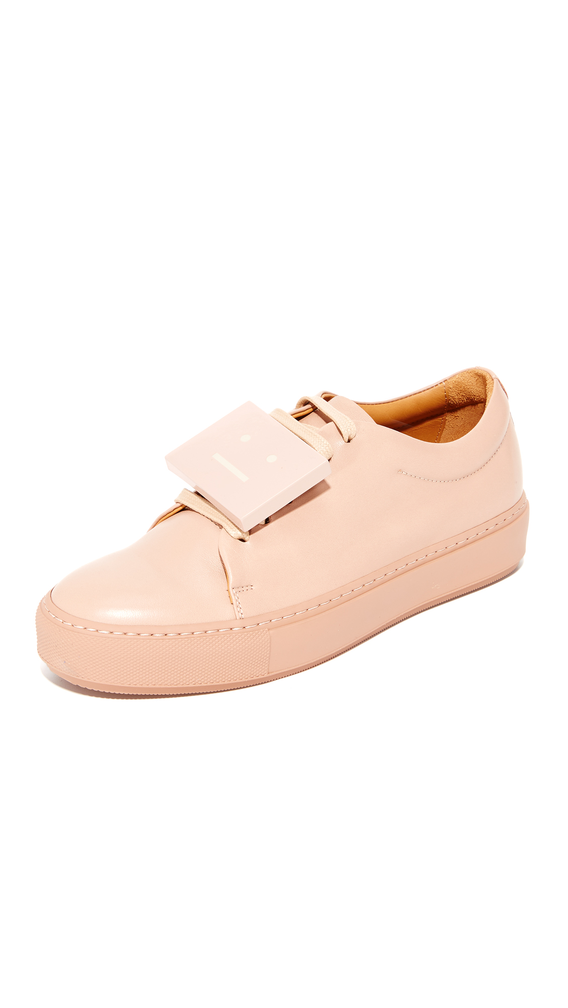 Acne Studios Adriana Sneakers - Dusty Pink at Shopbop