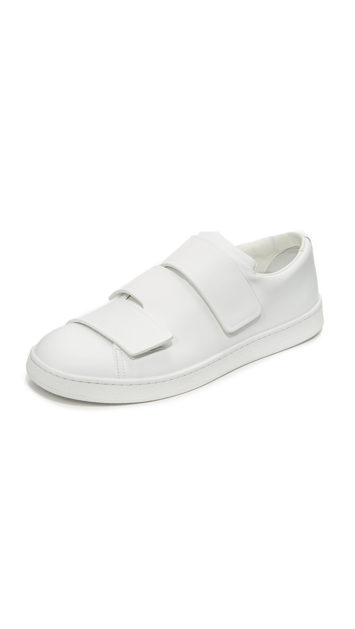 Acne Studios Triple Sneakers - White at Shopbop
