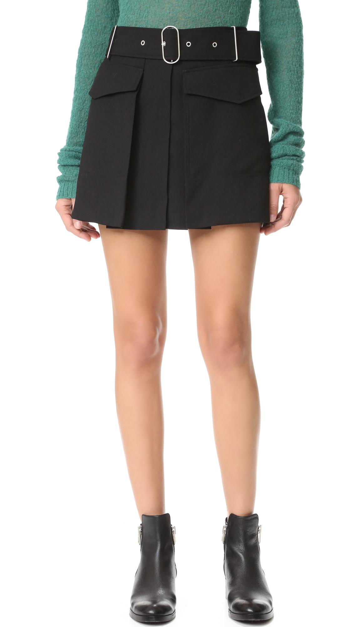 Acne Studios Peri Skirt - Black at Shopbop