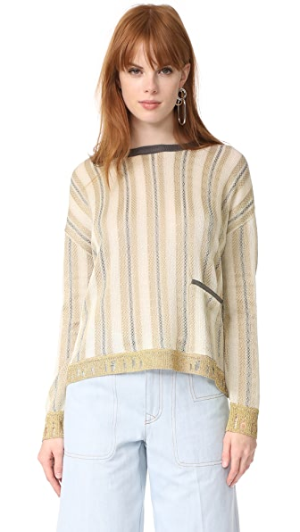 Acne Studios Blanca Stripe Sweater