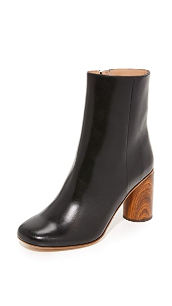 Acne Studios Allis Booties - Black