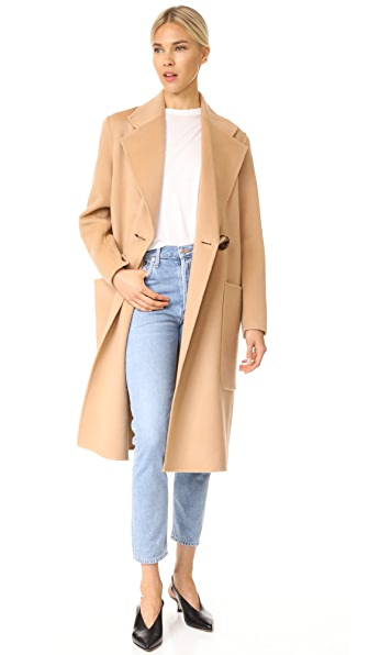 Acne Studios Carice Double Trench Coat - Camel