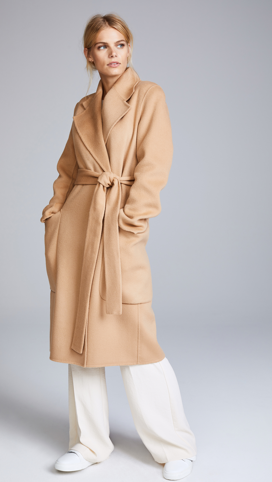 5ffd707cdf92 Acne Studios Carice Double Trench Coat