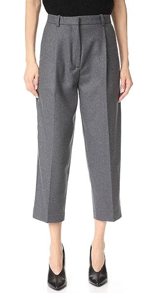 Acne Studios Tabea Flannel Pants