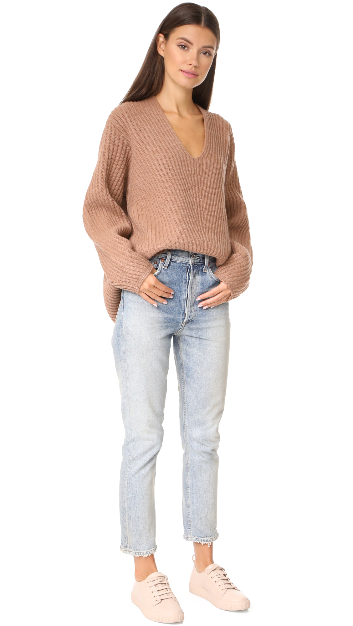 acne deborah knit