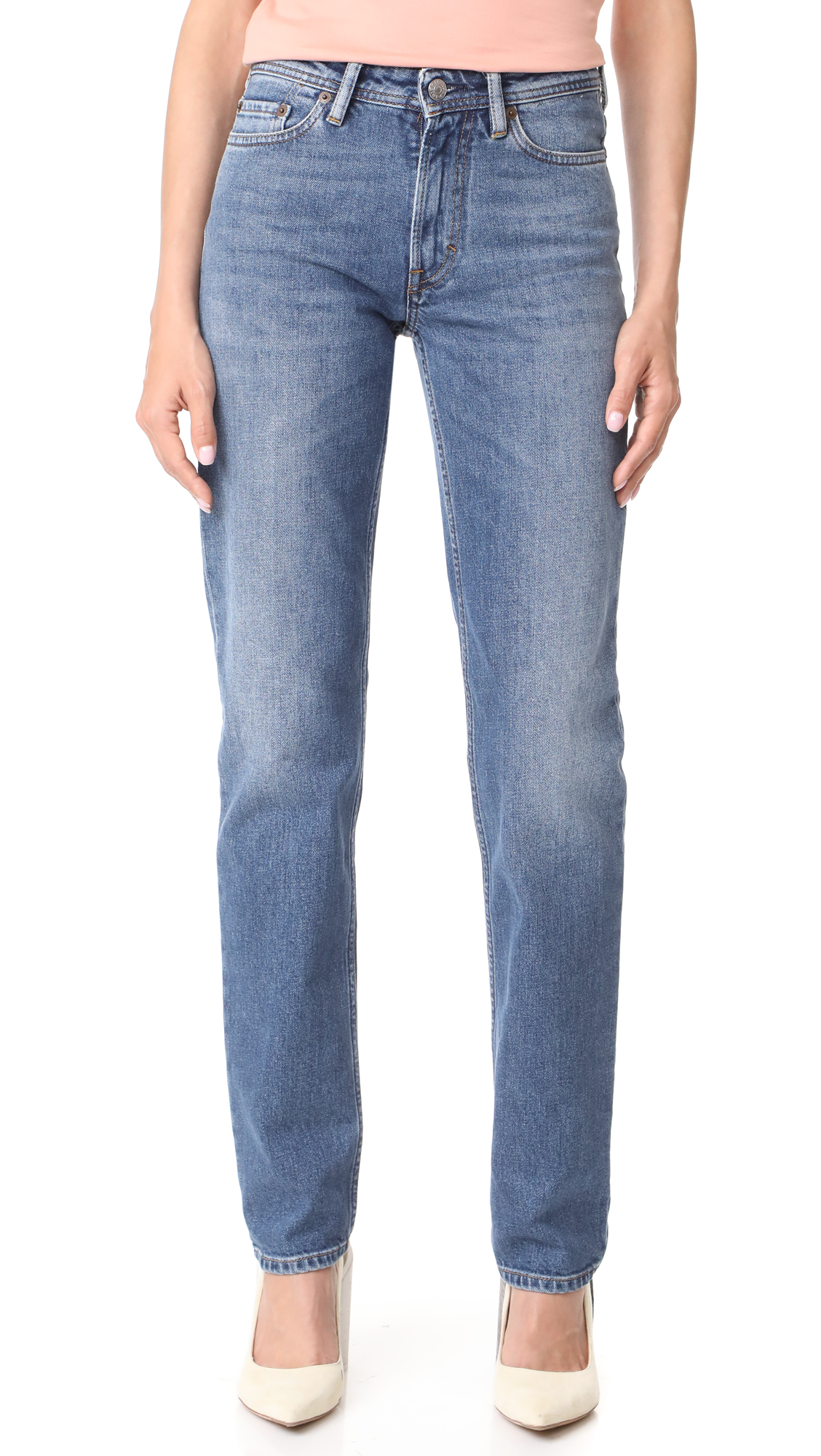 Acne Studios South Jeans - Mid Blue
