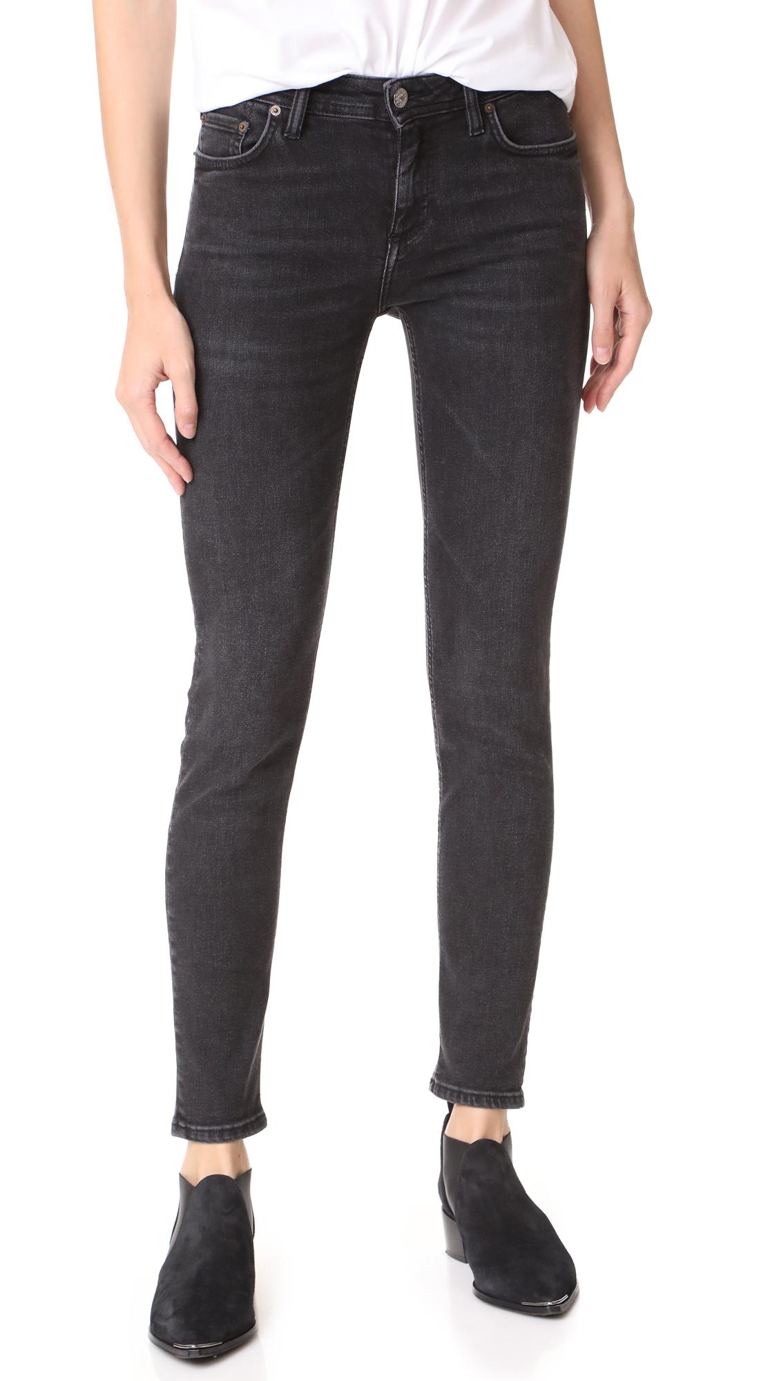 Acne Studios Climb Jeans - Used Black