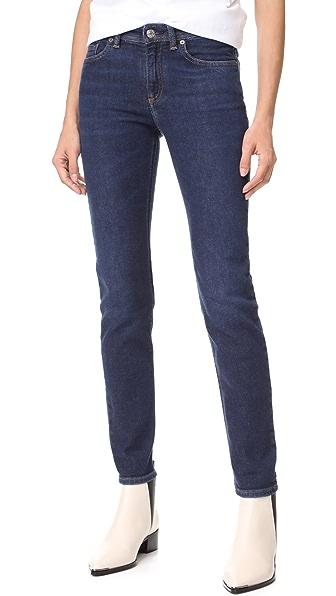 Acne Studios Climb Jeans - Dark Blue
