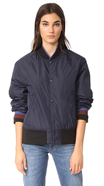 Acne Studios Mills Face Jacket - Navy