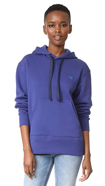 Acne Studios Ferris Face Hooded Sweatshirt