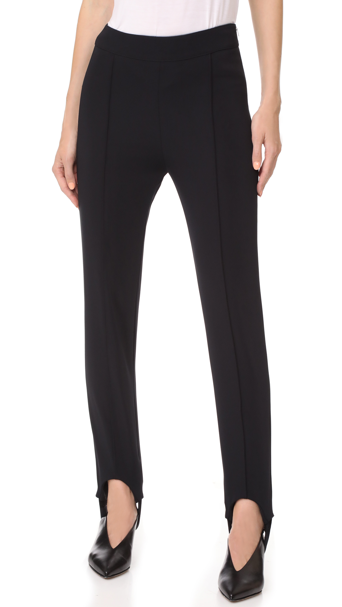 Acne Studios Tecia Tech Stirrup Pants - Navy