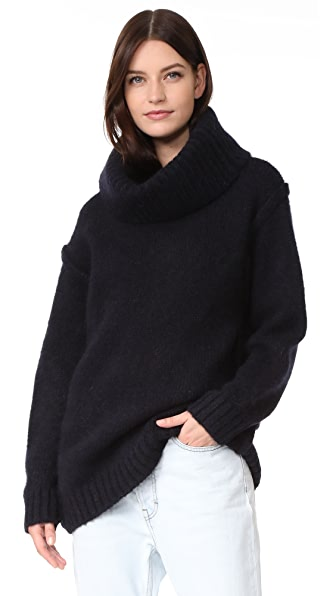 Acne Studios Ashia Alpaca Turtleneck Sweater
