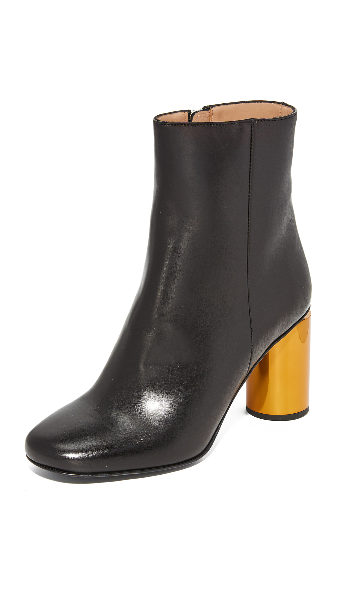 Acne Studios Allis Booties - Black/Camel
