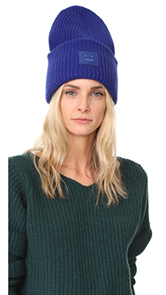Acne Studios Pansy L Face Hat In Royal Blue
