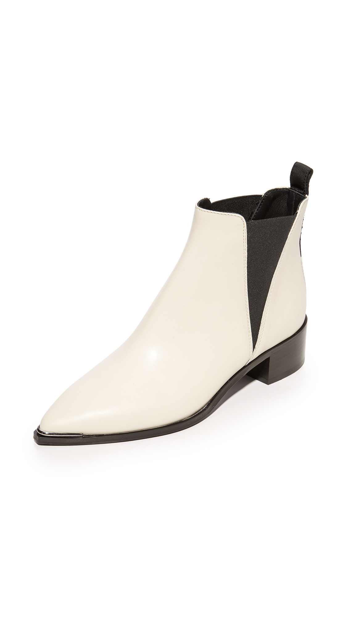 Acne Studios Jensen Chelsea Boots - Off White