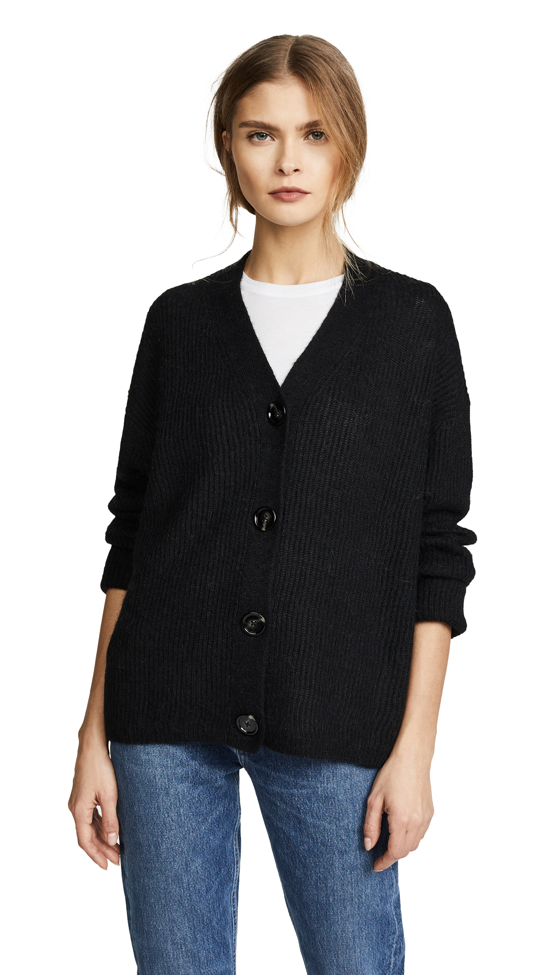 Acne Studios Ivelia Alpaca Sweater - Black