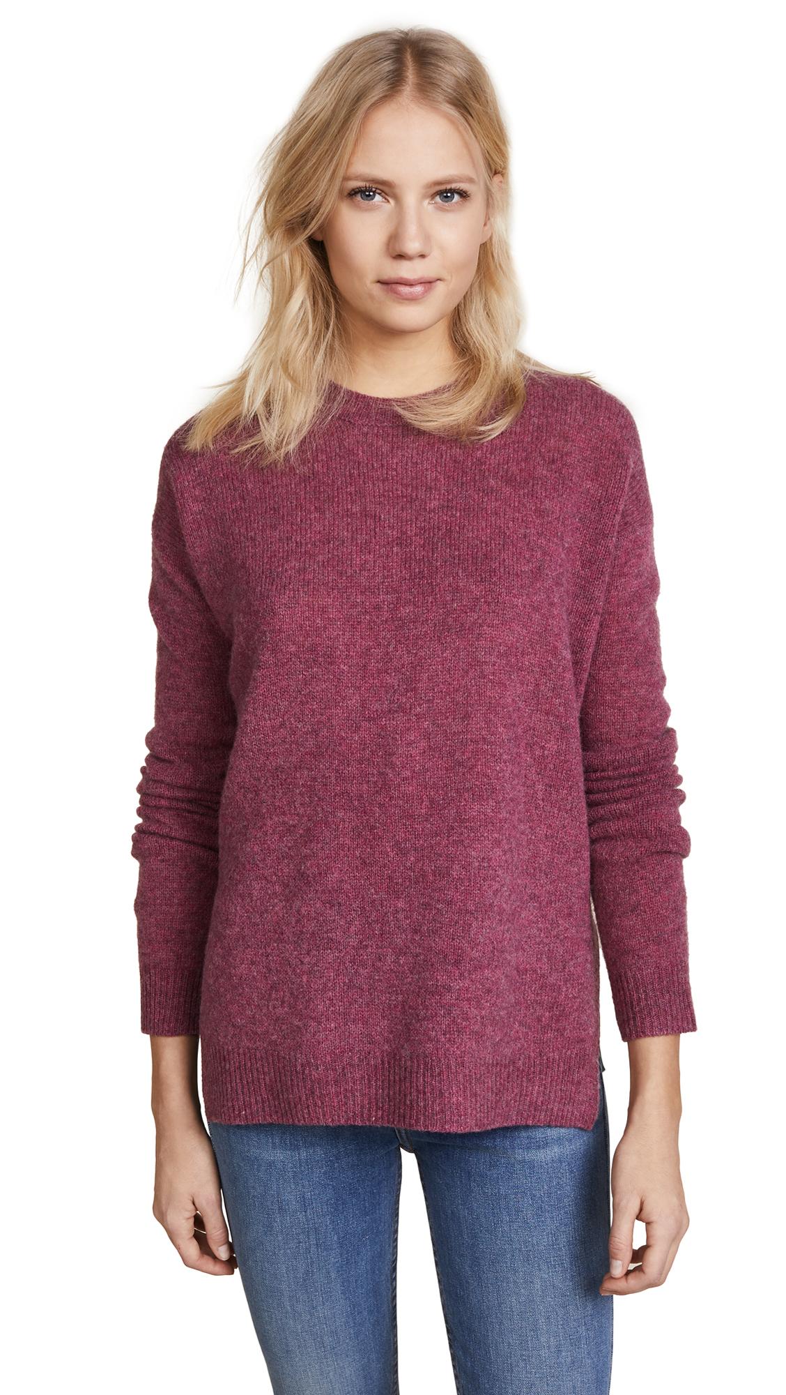 Acne Studios Deniz Wool Sweater - Pink Melange