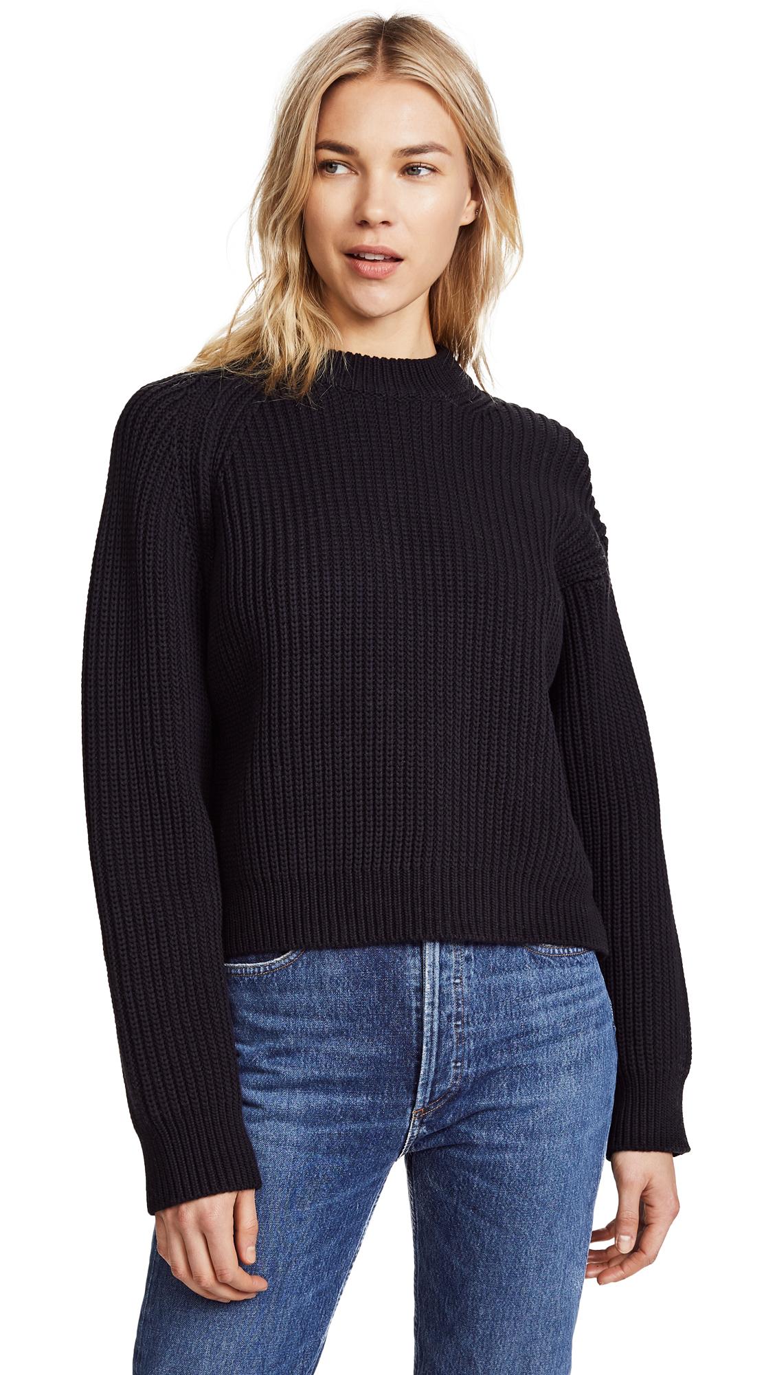 Acne Studios Penina Chunky Sweater - Black
