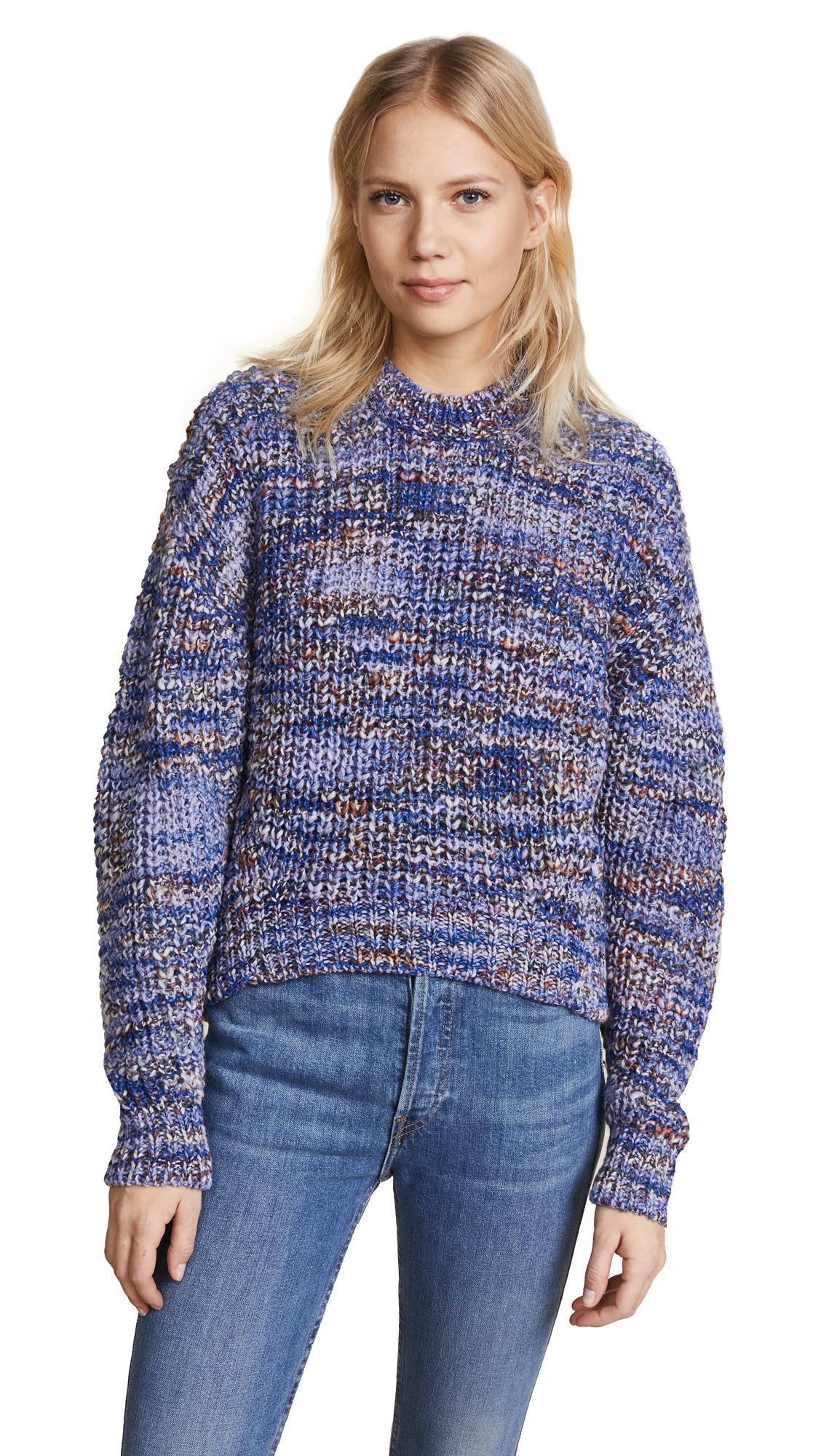 Acne Studios Zora Multi Pullover - Blue Mix