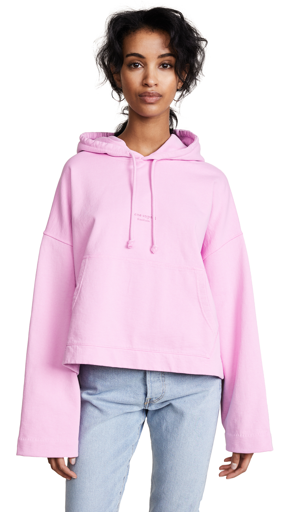 Acne Studios Joggy Sweatshirt - Candy Pink