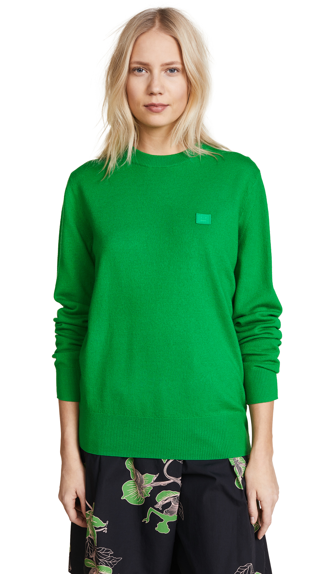 Acne Studios Nalon Sweater - Kelly Green