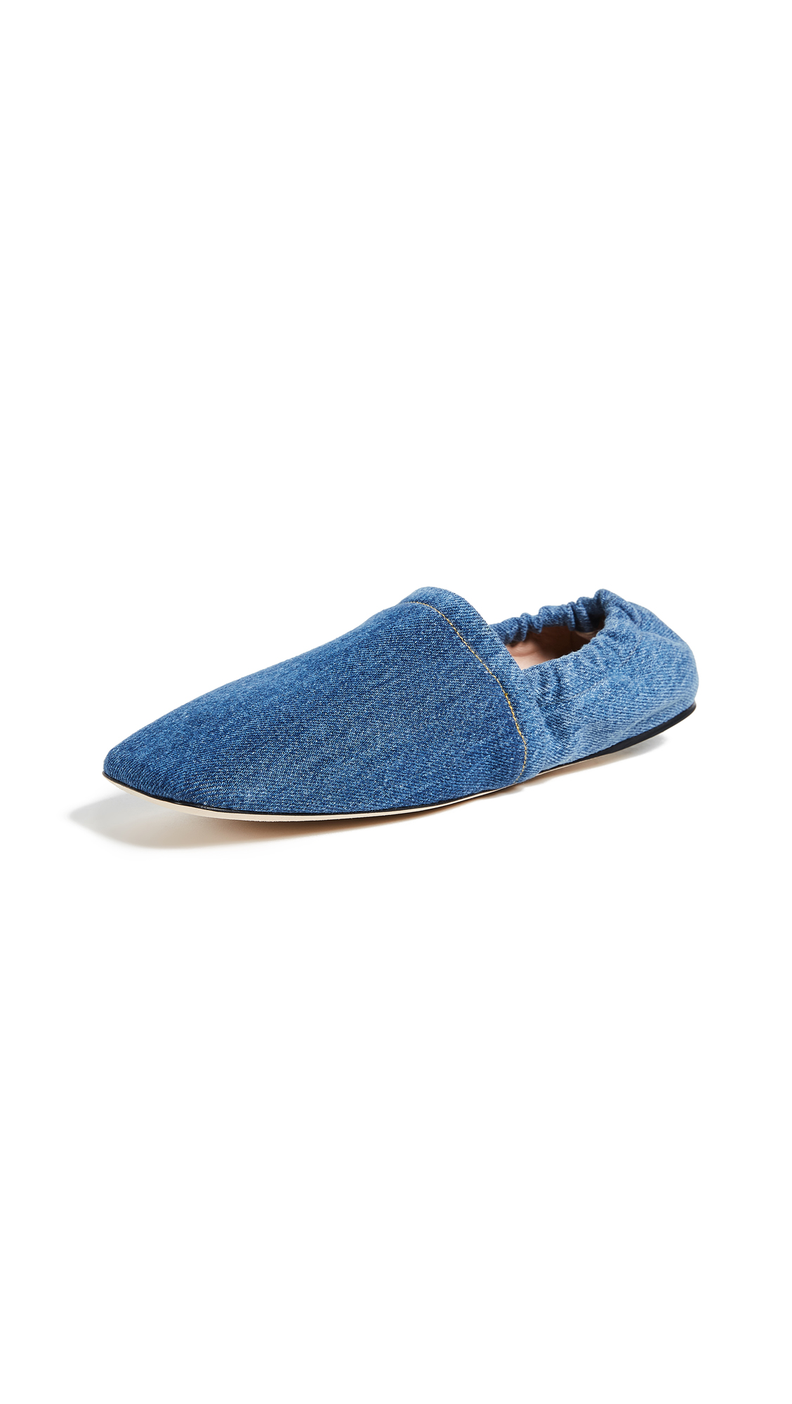 Acne Studios Toney Flats - Denim Blue