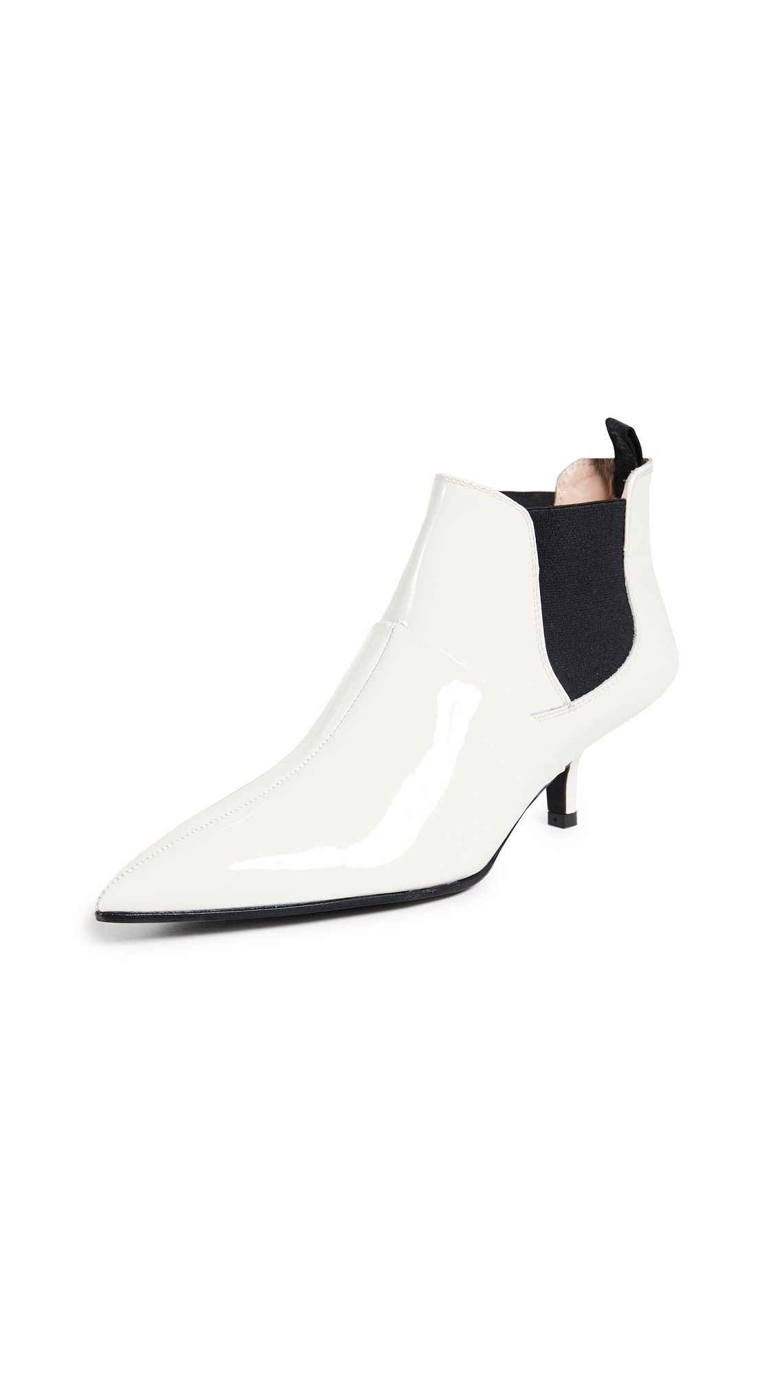 Acne Studios Kity Booties - White