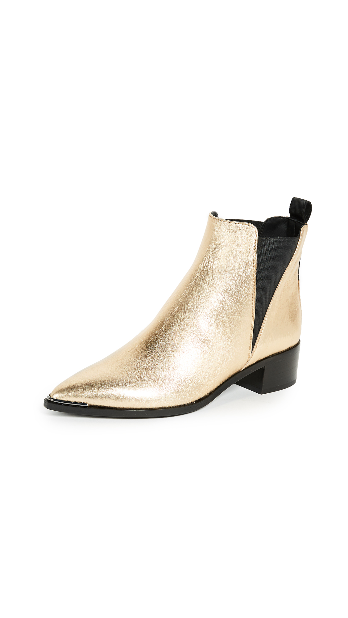Acne Studios Jensen Booties - Gold