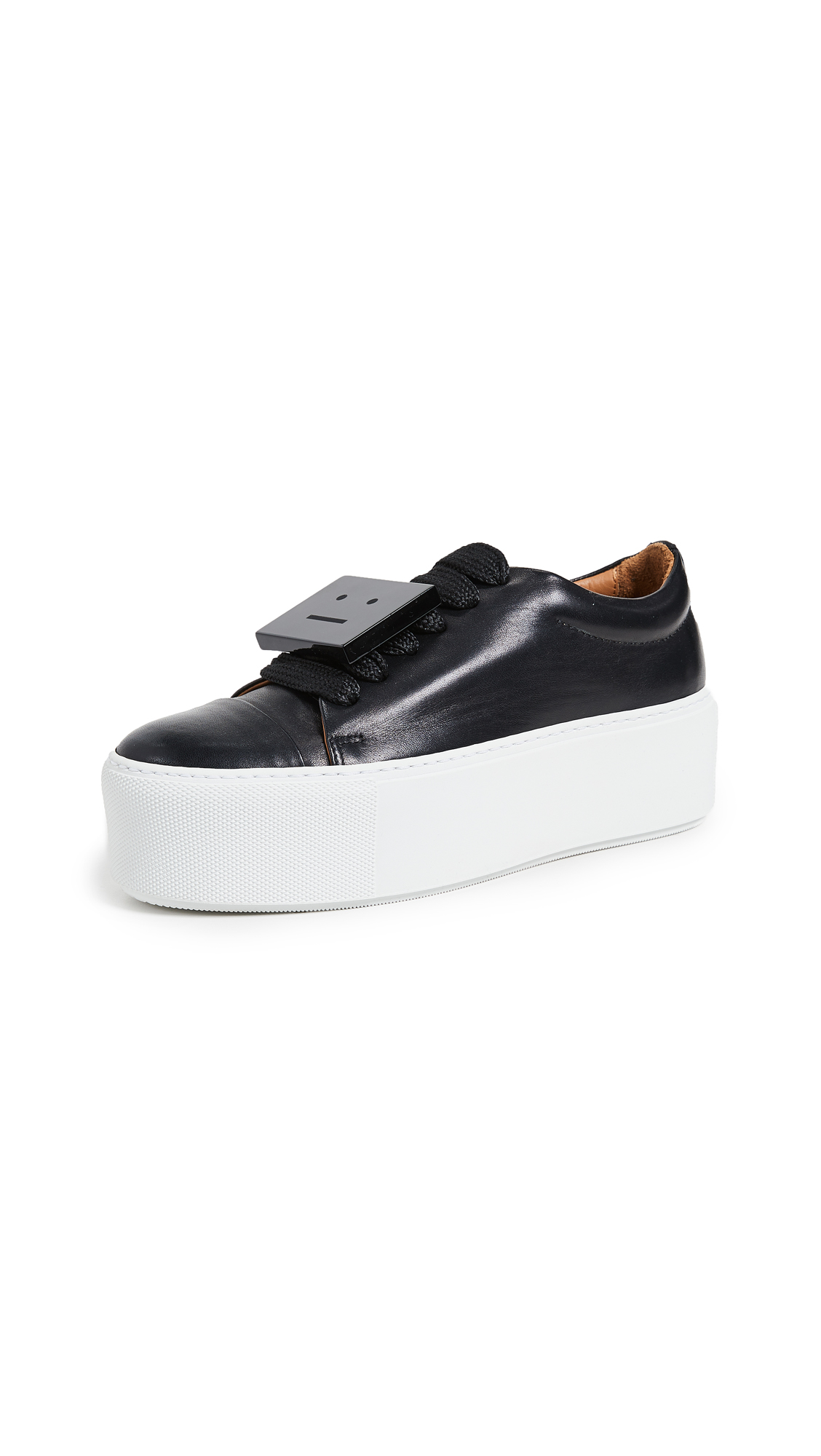 Acne Studios Drihannah Sneakers - Black/White