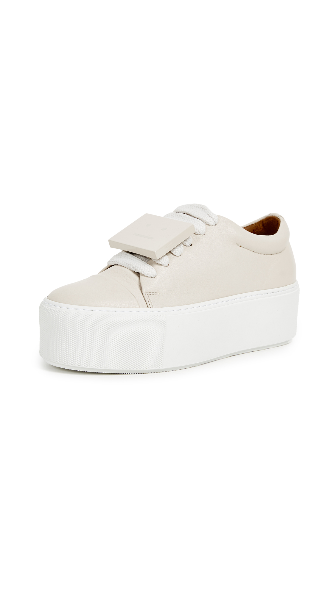 Acne Studios Drihannah Sneakers - Off White/Amber
