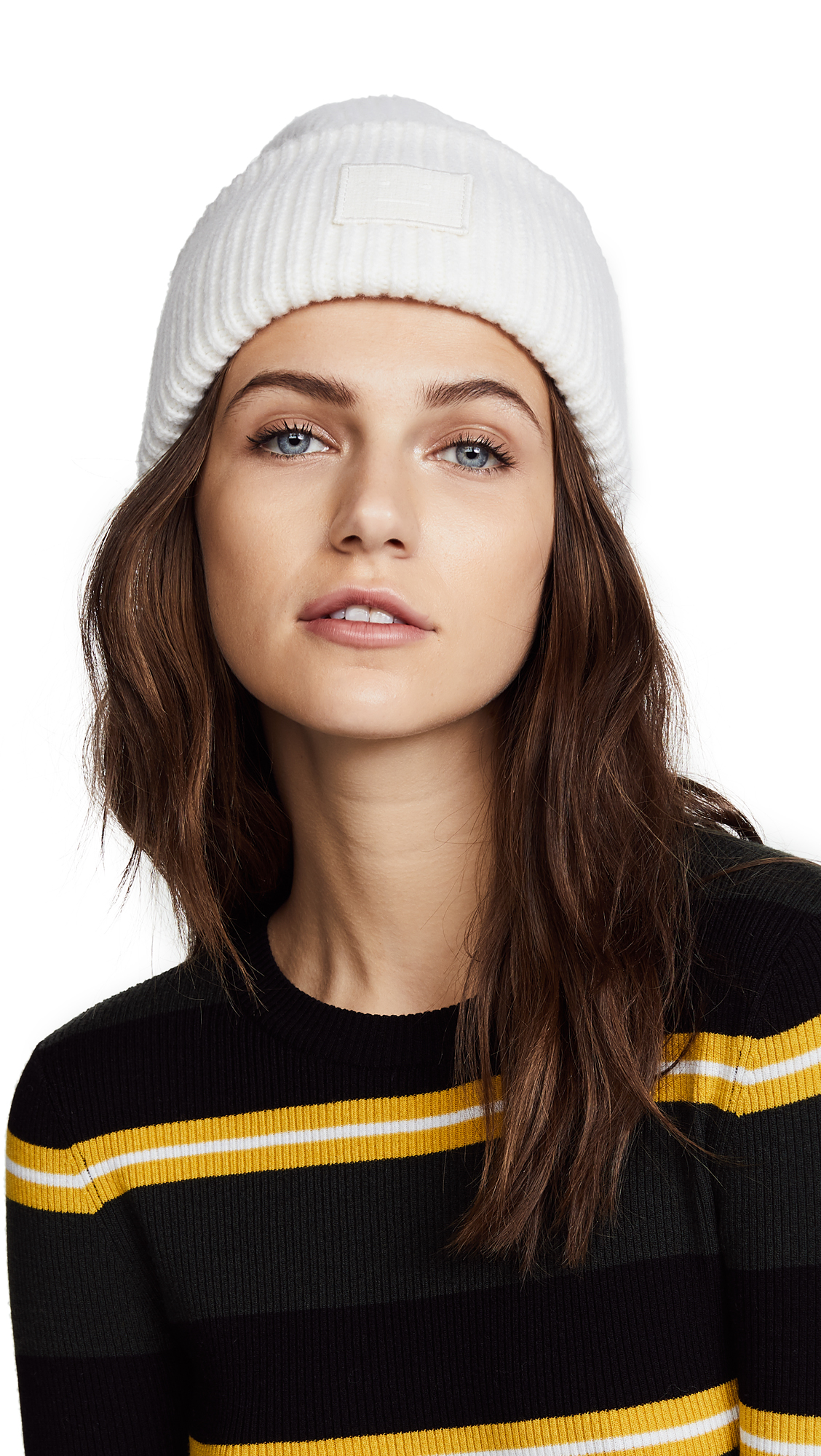 Acne Studios Pansy S Face Hat - Natural White