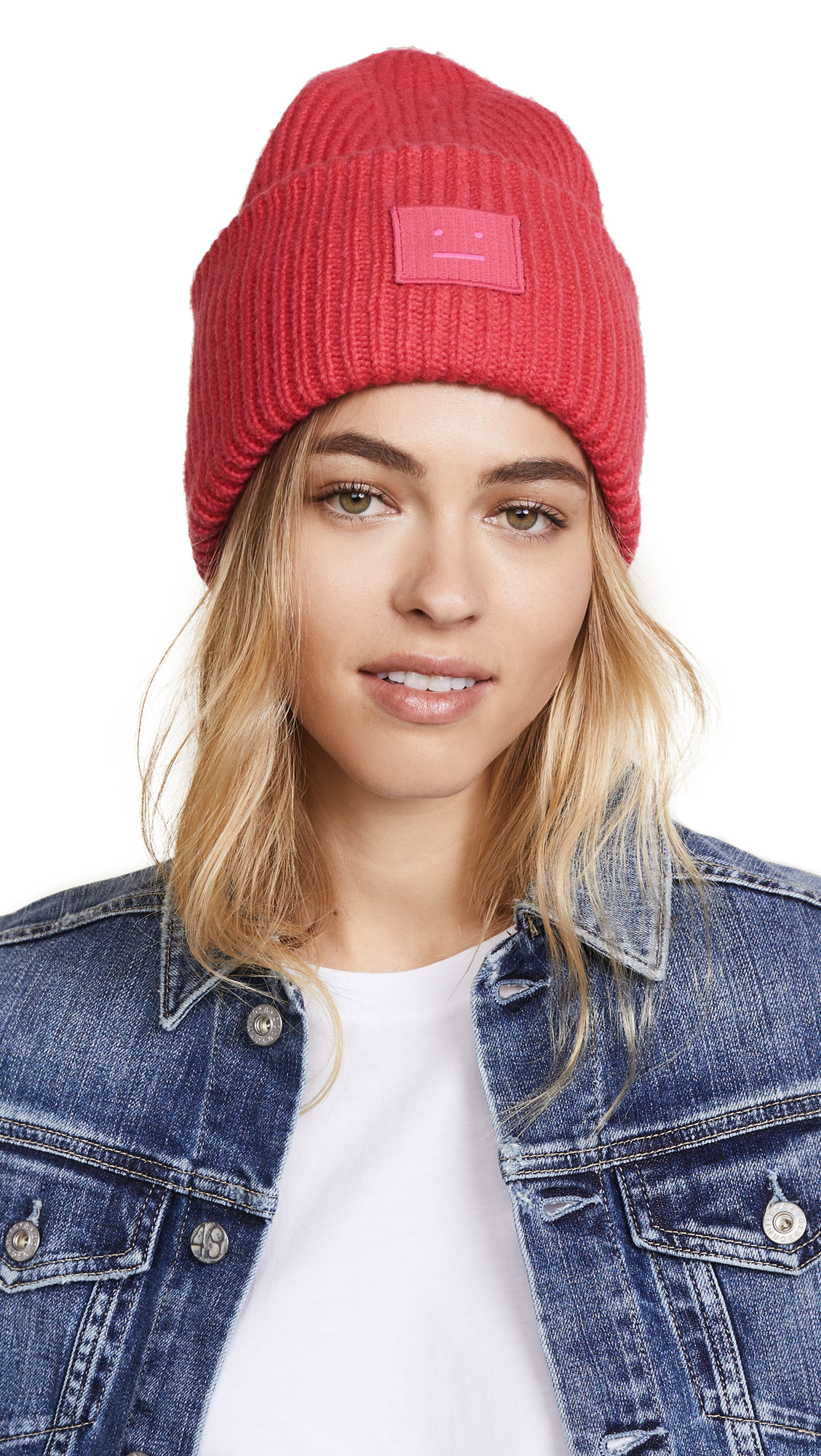 Acne Studios Pansy S Face Hat - Neon Pink