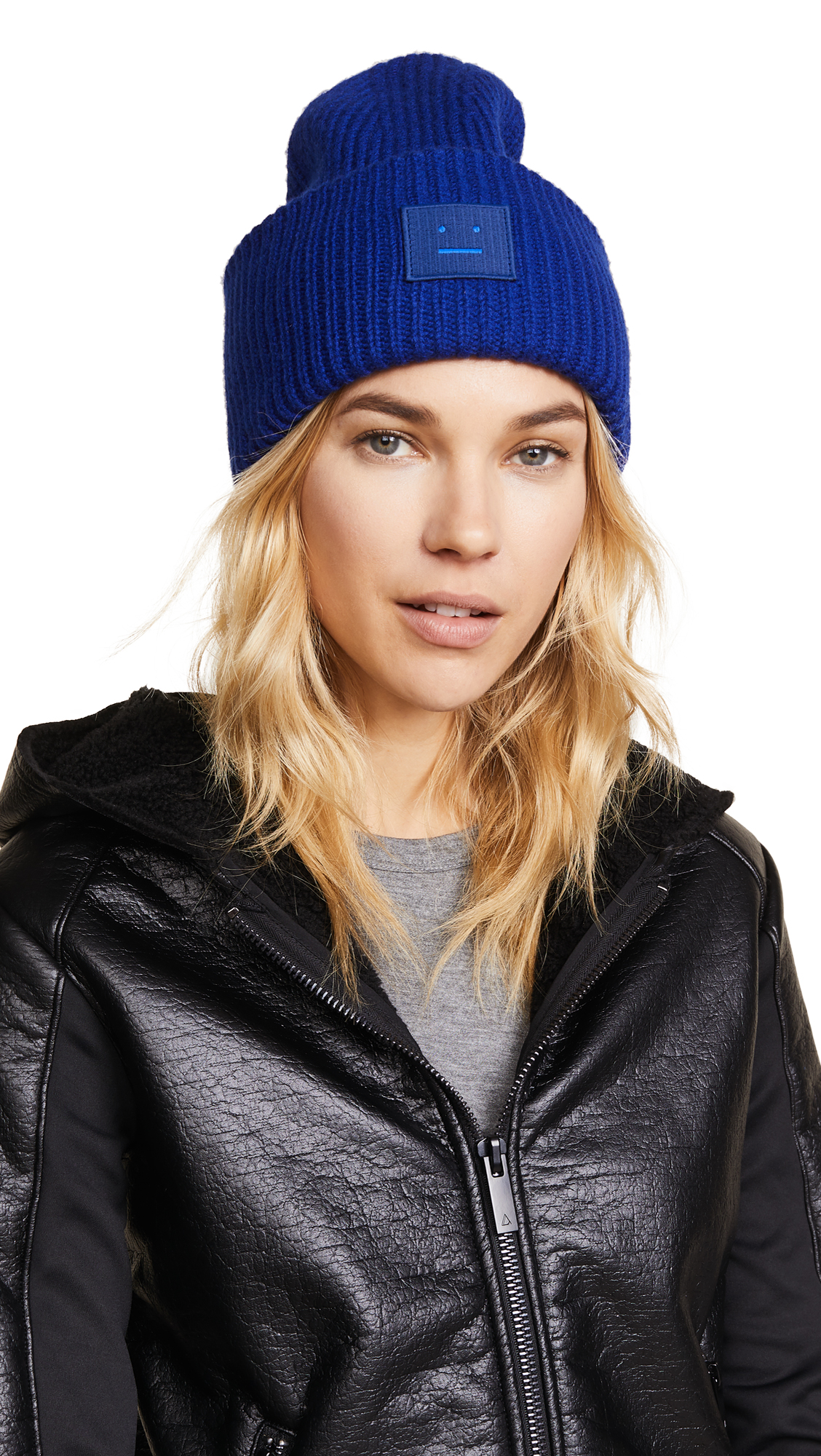 Acne Studios Pansy S Face Hat - Ink Blue