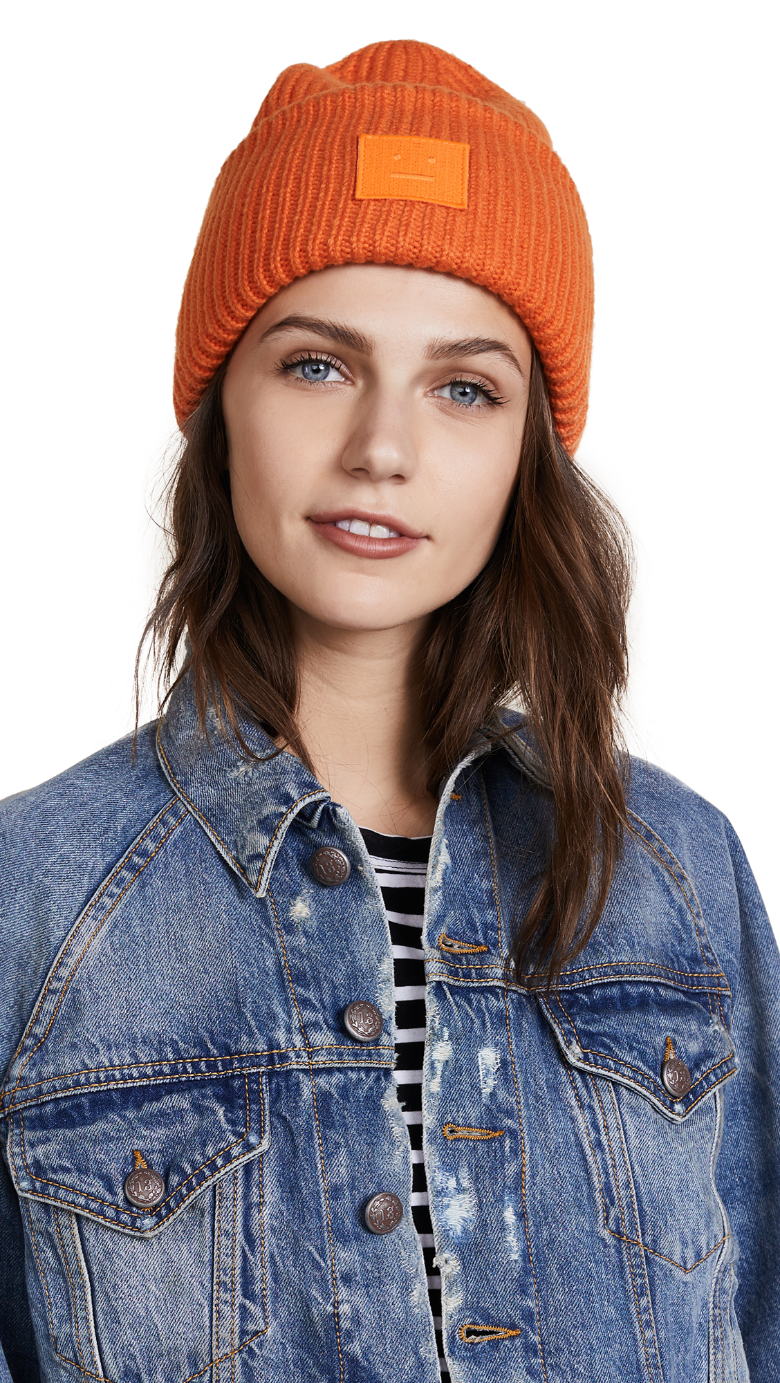 Acne Studios Pansy S Face Hat - Geranium Orange