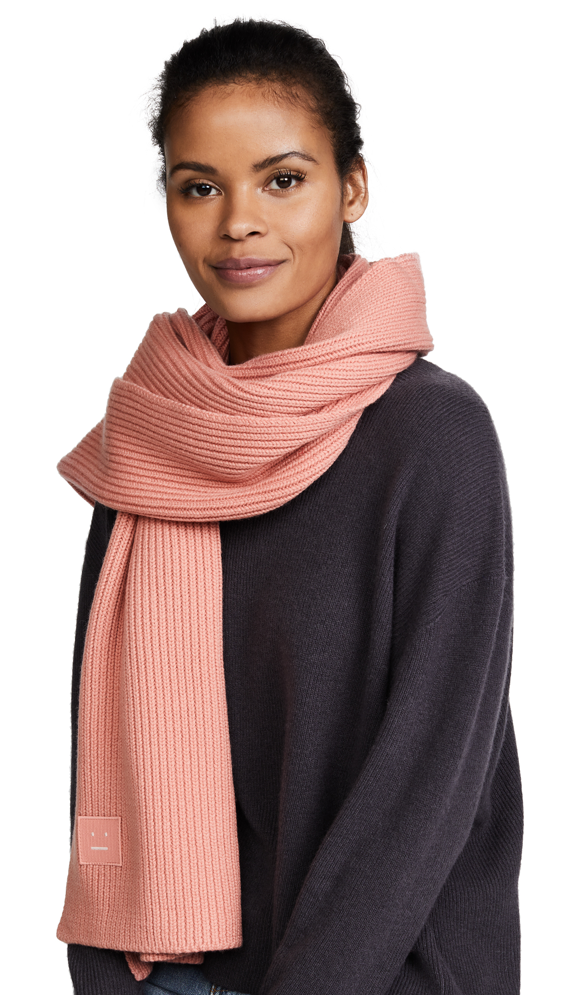 Acne Studios Bansy S Face Scarf - Pale Pink