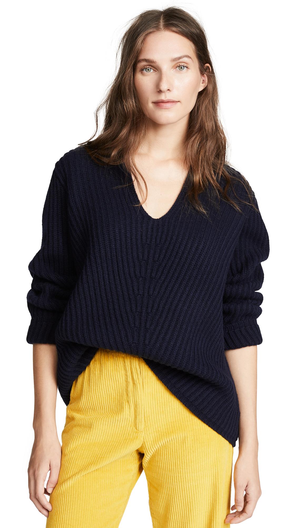 Acne Studios Deborah Sweater In Navy