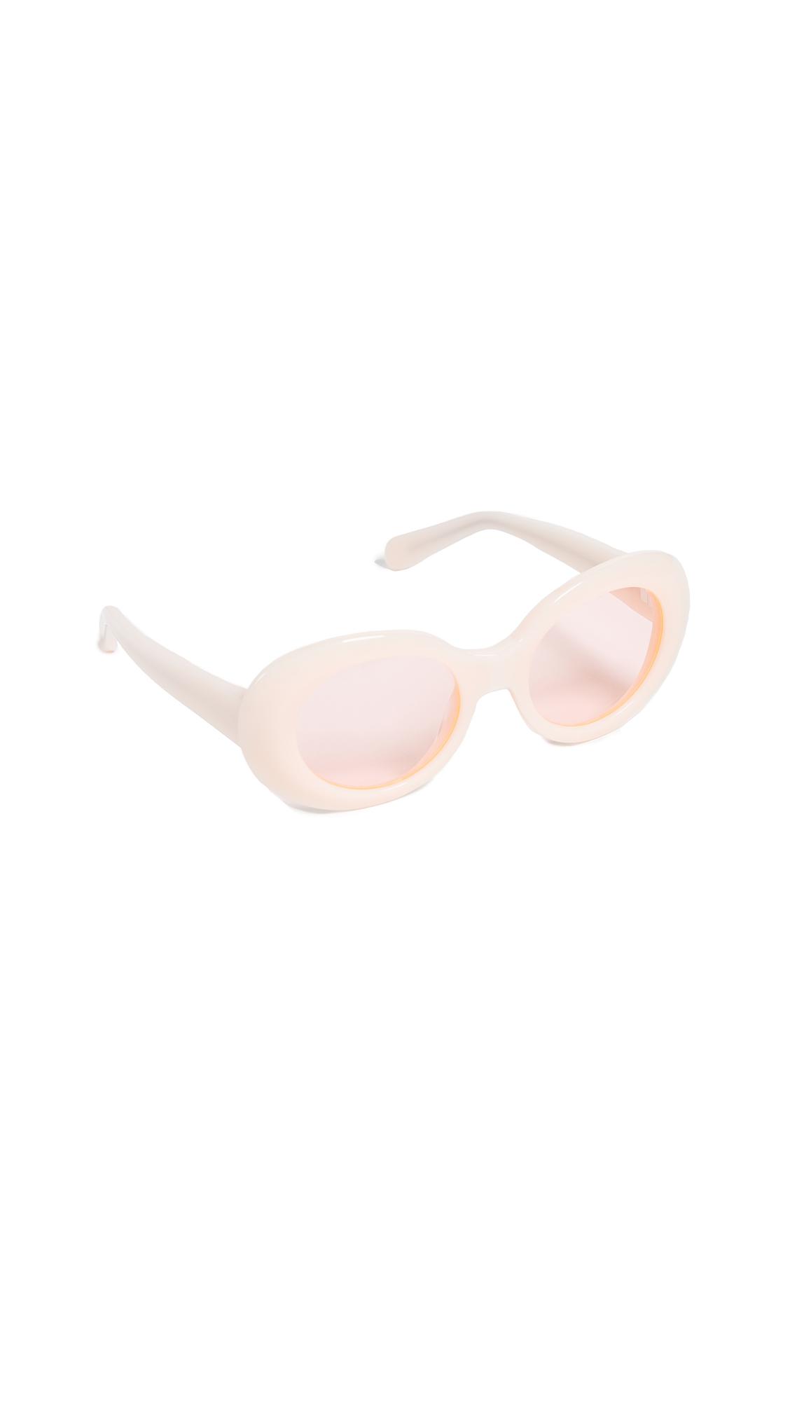 Acne Studios Mustang Sunglasses - Pink/Fluo Pink