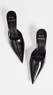 Acne Studios Туфли с открытой пяткой