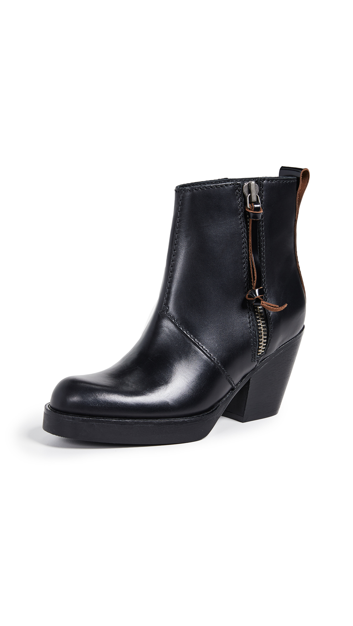 Acne Studios Pistol Booties - Black