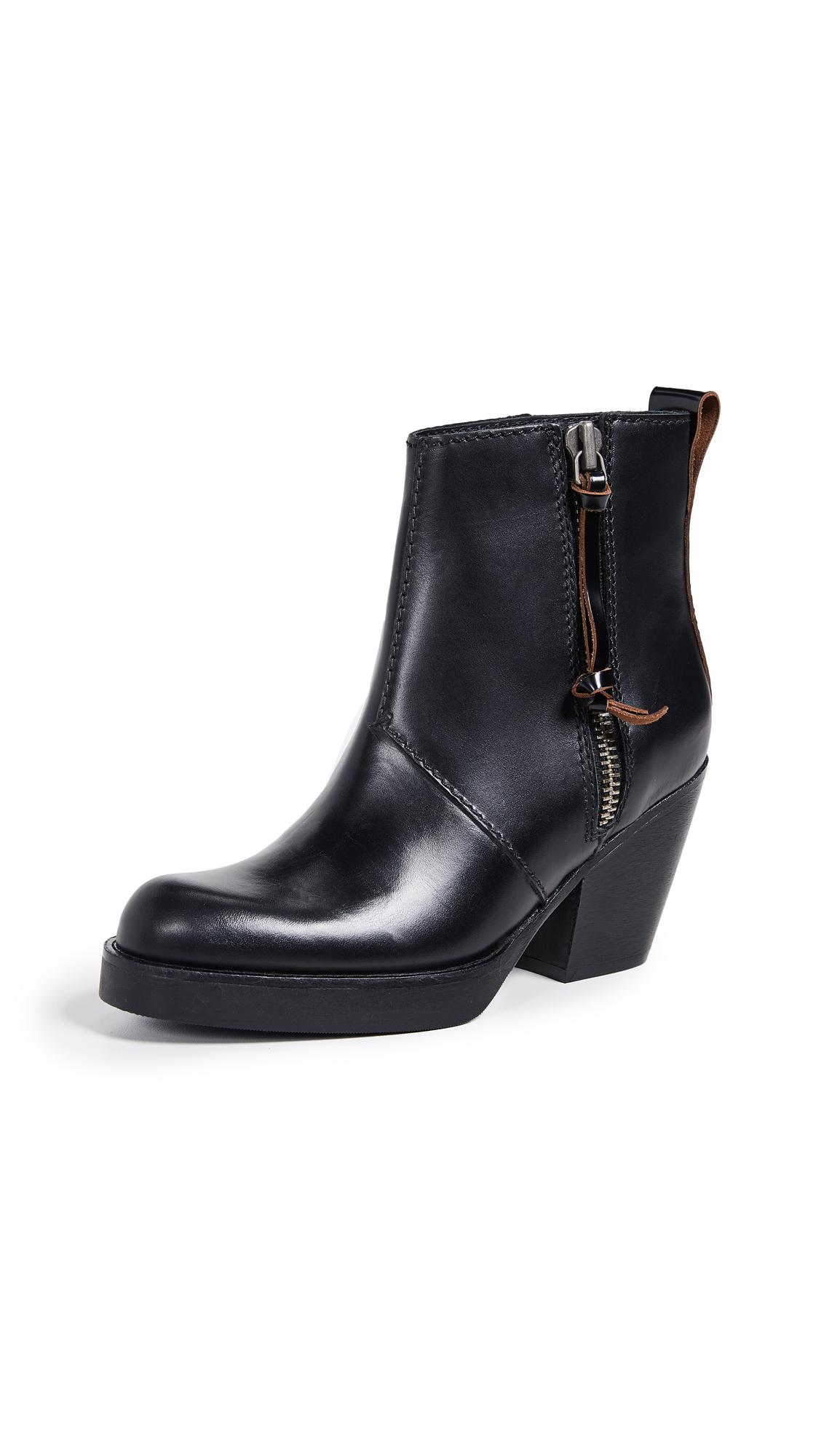Photo of Acne Studios Pistol Booties online shoes sales