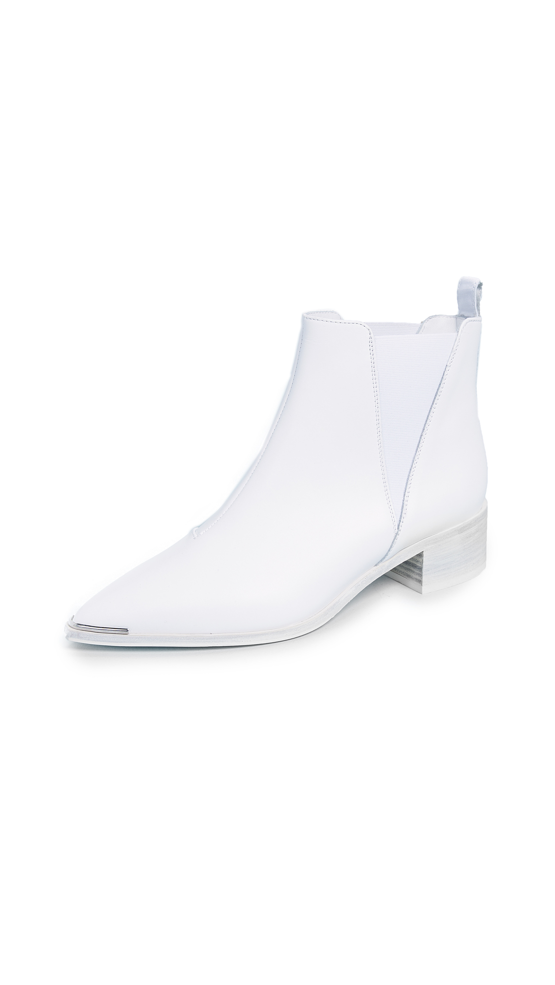 Acne Studios Jensen Booties - White