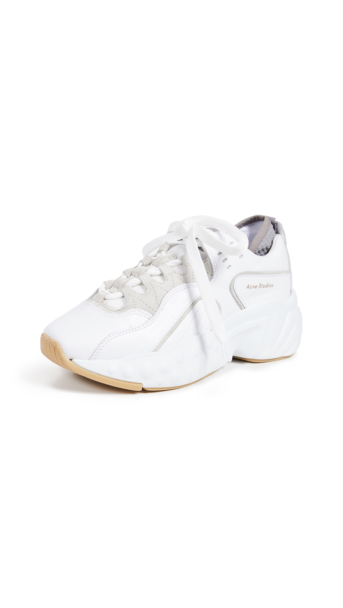 Acne Studios Manhattan Sneakers - White/White