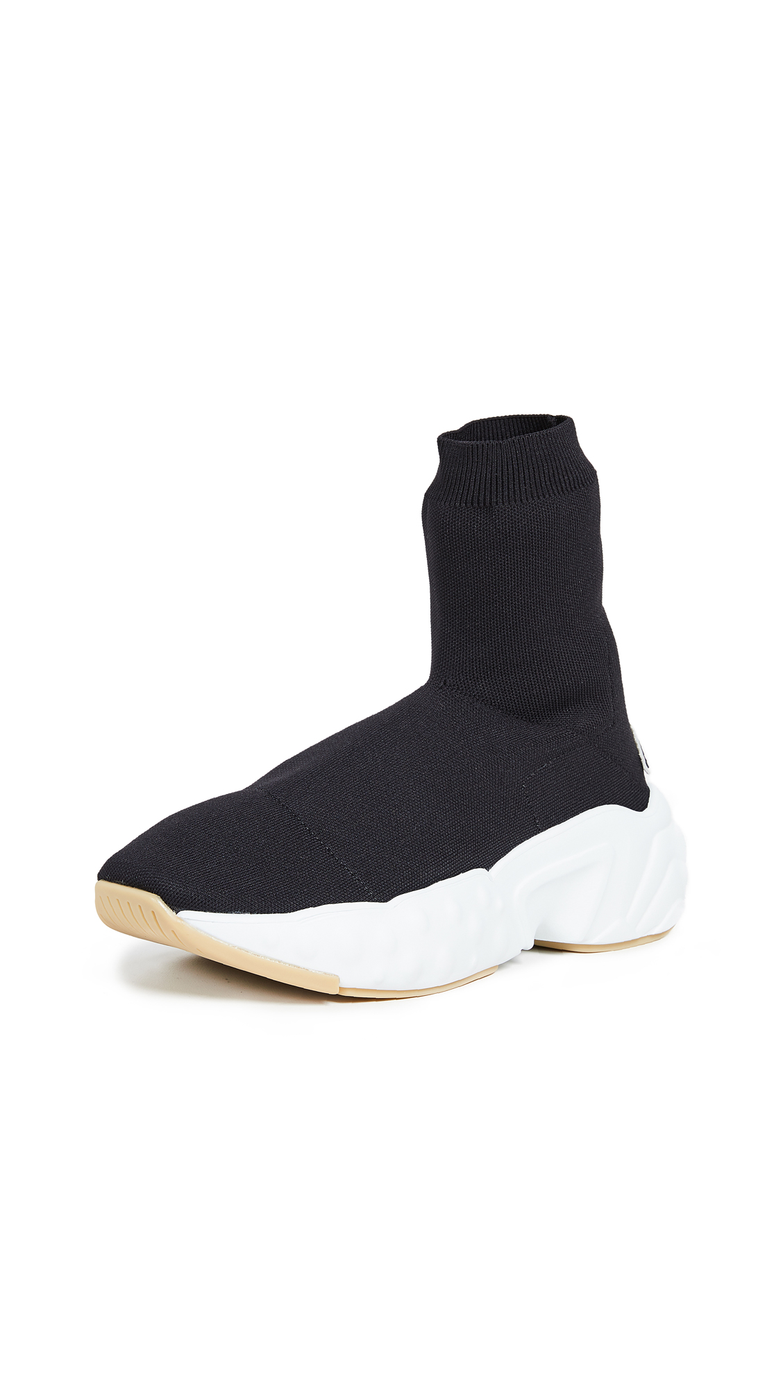 Acne Studios Tall Sock Sneakers - Black/Black
