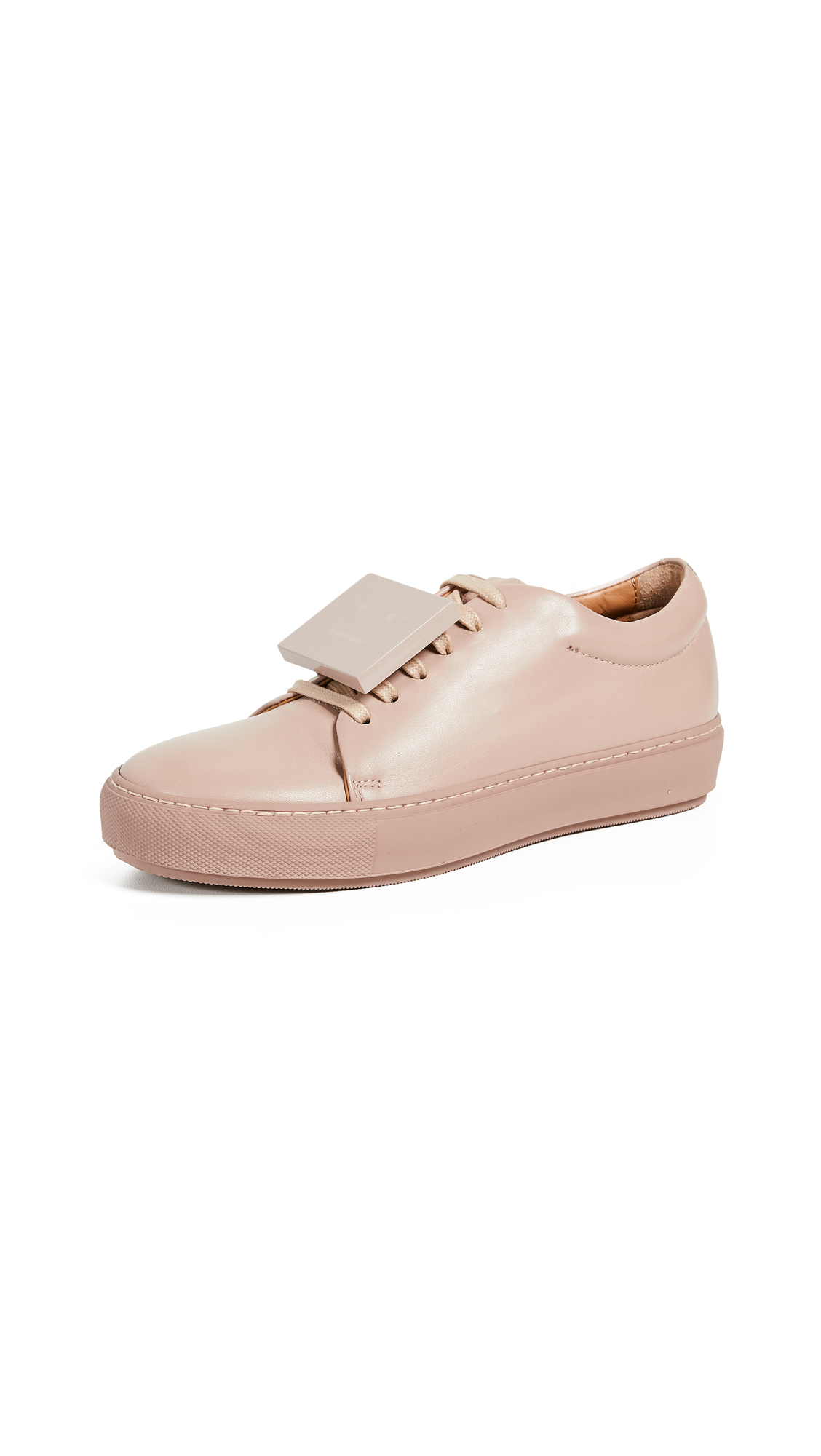 Acne Studios Adriana Turnup Sneakers - Dusty Pink