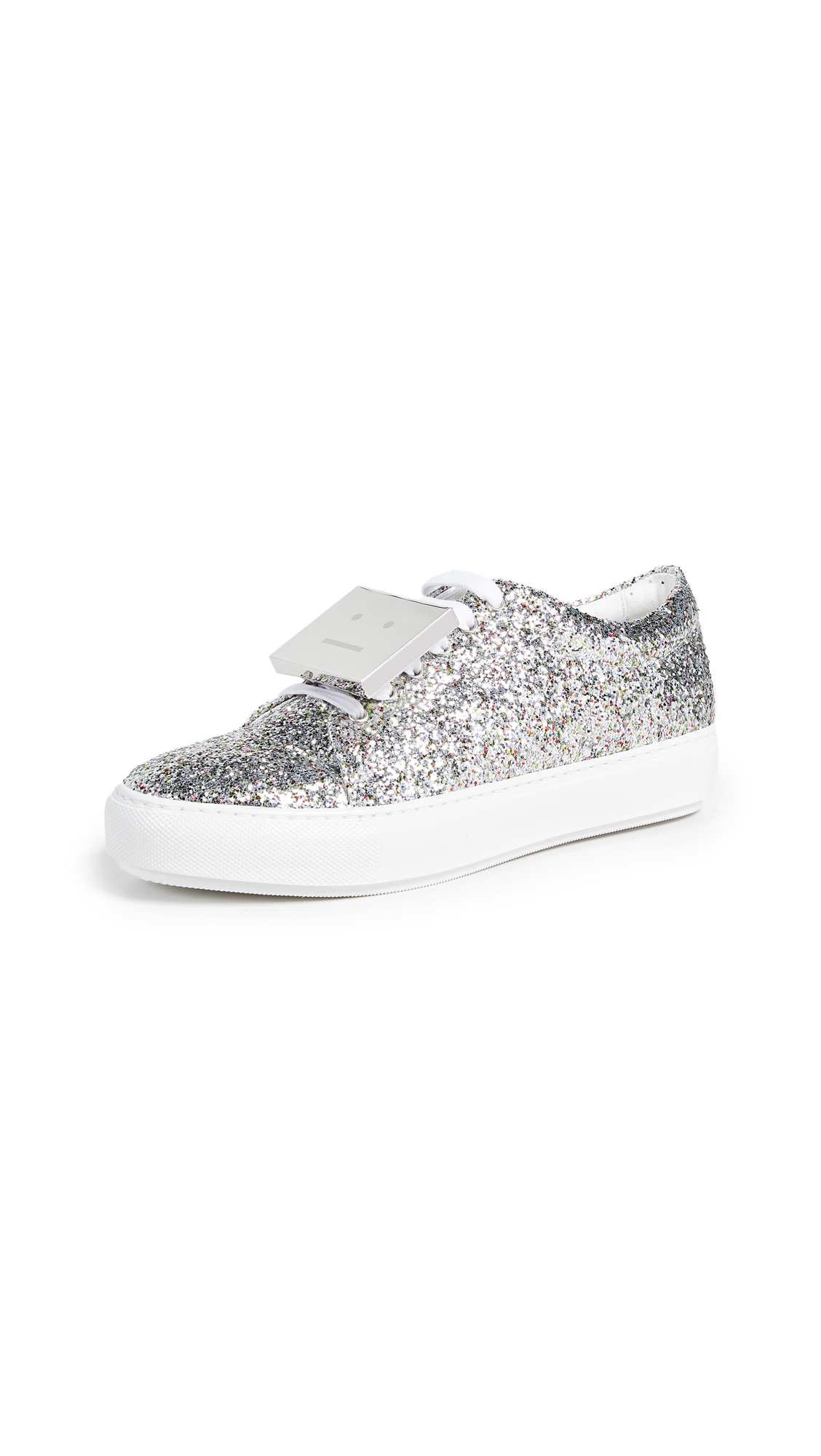 Acne Studios Adriana Spark Sneakers - Silver