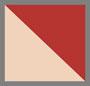 Beige/Red
