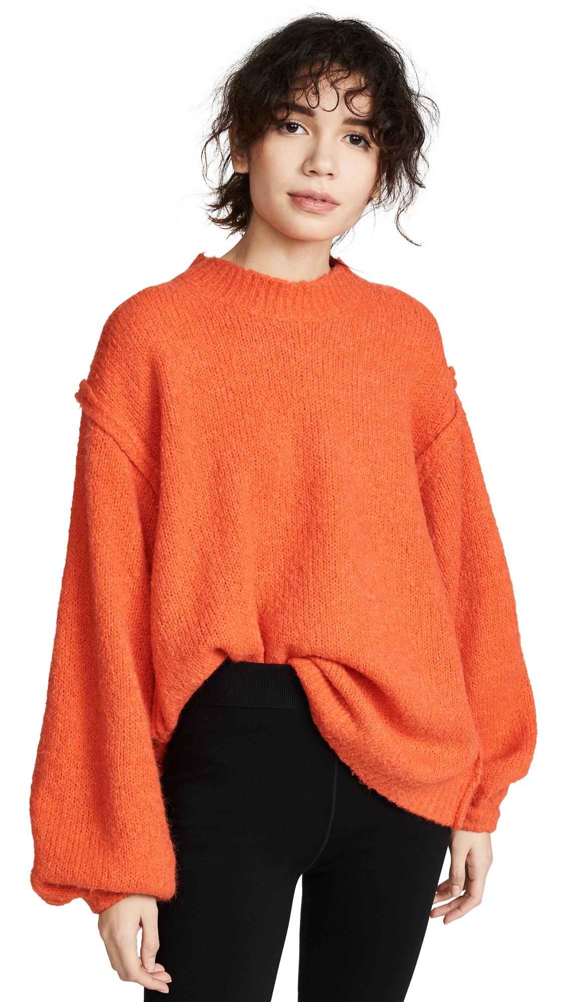 Acne Studios Kiara Sweater - Coral Red