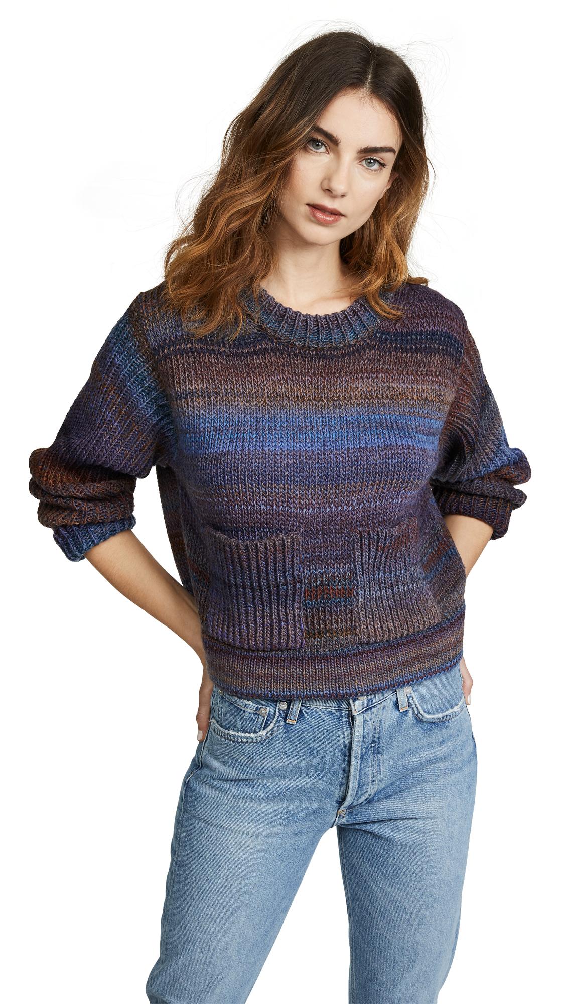 Acne Studios Kalisa Sweater - Rust/Blue